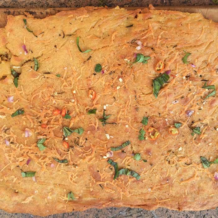 chickpea-flour-bread